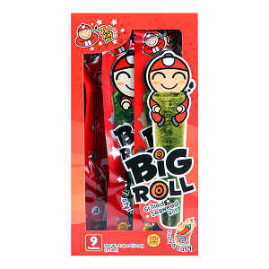 Foto Big roll seaweed snack (spicy)