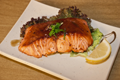 Foto Teriyaki salmon don